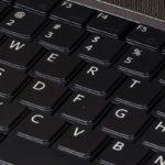 Foto di una tastiera QWERTY