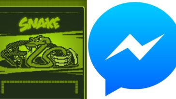 Snake Facebook Messenger