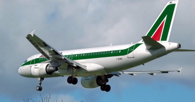 Aereo Alitalia.