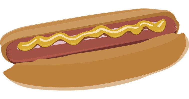 Un classico hot-dog.