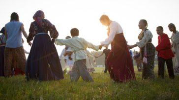 Danza rituale di gruppo