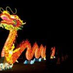 Rappresentazione di un drago cinese.