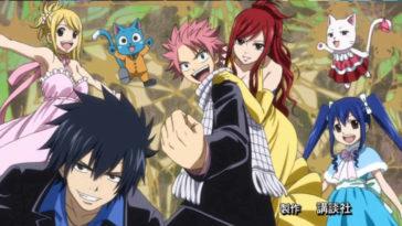 Protagonisti di Fairy Tail.