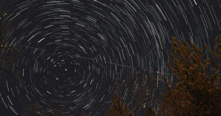 Rotazione circumpolare delle stelle.