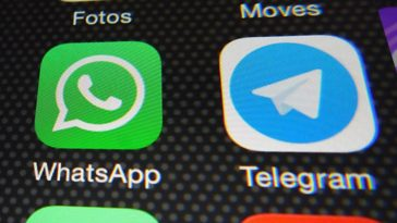Icone di Whatsapp e di Telegram