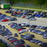 Parcheggio per automobili.