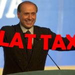 Berlusconi propone la flat tax