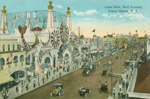 L'originale Luna Park vicino New York.